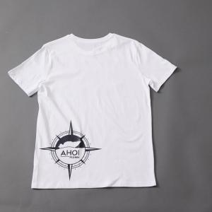Das Ahoi Plünn T-Shirt mit der Kompassrose von hinten