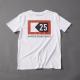 Ahoi Plünn T-Shirt mit dem Schifffahrtszeichen 'Mindestabstand' von vorne