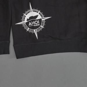 Shoplegebild Hoodie in schwarz von hinten