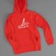 Ahoi Plünn Shop Legebild Hoodie mit dem Seezeichen 'Heulboje' in rot