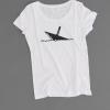 Ahoi Plünn Shopbild T-Shirt für Frauen mit dem Seezeichen 'Wrack'