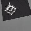 Ahoi Plünn Shopbild T-Shirt für Frauen 'Wrack' in schwarz von hinten
