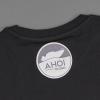Shop Legebild Fishing Shirt 'MirdochegAal' in schwarz, back