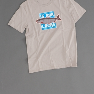 Shop Legebild Fishing Shirt 'Mir doch Lachs'