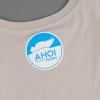 Shop Legebild Fishing Shirt 'Mir doch Lachs', back