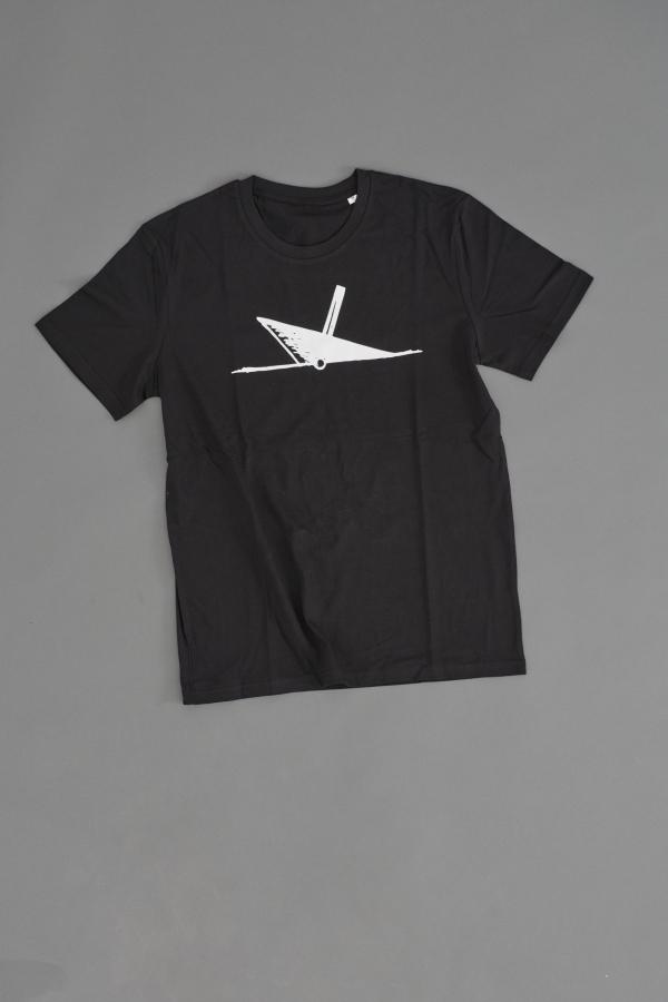Ahoi Plünn T-Shirt mit dem Seezeichen 'Wrack' von vorne und in schwarz