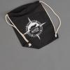 Der Ahoi Plünn Seesack in schwarz mit der Ahoi Plünn Kompassrose