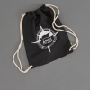 Ahoi Plünn Shopbild Seesack in schwarz mit der Ahoi Plünn Kompassrose in weiß